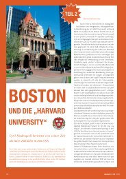 """Boston und die """"Harvard University"""" - zahniportal.de"""