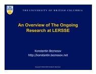PDF - LERSSE - University of British Columbia