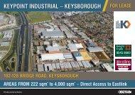 Keypoint industrial – Keysborough