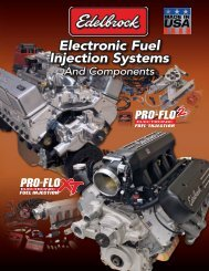 Electronic Fuel Injection Systems - Edelbrock