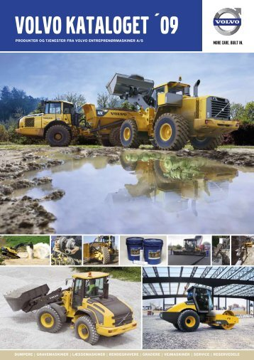 Volvo kataloget 2009 - Volvo Construction Equipment