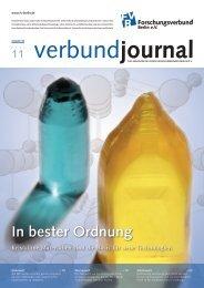 86/2011 - Forschungsverbund Berlin e. V.
