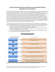 Environmental water and air quality issues associated with shale ...