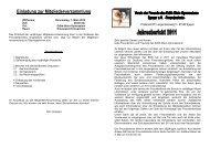 Jahresbericht 2011 - Edith Stein Gymnasium