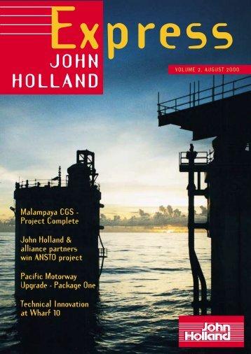 John Holland Express, Volume 2, August 2000 - Leighton Holdings