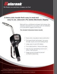 F5270 Pro Series - Electronic Control Handle flyer - Mobile ...