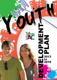 Youth Development Plan 2013 - 2018 - Town of Gawler - SA.Gov.au