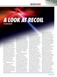 A LOOK AT RECOIL - Clay Shooting USA