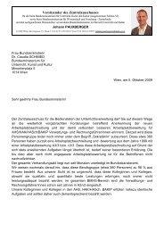 Brief an BM Dr. Schmied - zaverwaltung.at