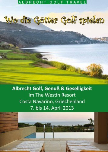Wo die Götter Golf spielen - 1Golf.eu