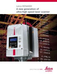 Leica HDS6000 Product Brochure