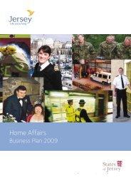 Home Affairs Business Plan 2009 (459 kb) - States of Jersey