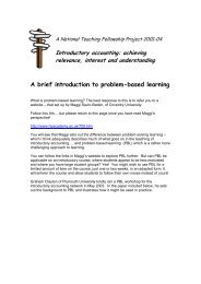 Problem-based learning resource