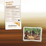 tansania - World Vision