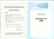 Der Jahresbericht 2006 - Heinrich von Herzogenberg, Komponist