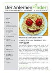 Mai 2013-1 auf Seite 14 - Anleihen-Finder.de