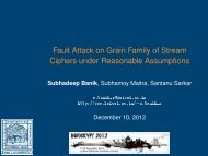 Fault Attack on Grain Family of Stream Ciphers under Reasonable ...