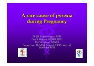 A rare cause of pyrexia during Pregnancy - Tour Hosts Pty Limited