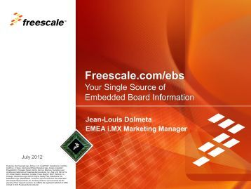 Freescale PowerPoint Template - ICC Media GmbH