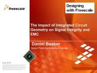 High Speed Digital Design - Freescale
