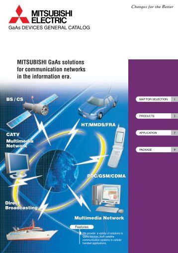 Mitsubishi Electric GaAs Devices Catalogue