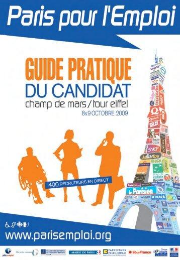 PPE09-GUIDE 01-09:Mise en page 1 - Paris pour l'Emploi