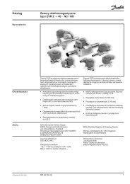 Katalog Zawory elektromagnetyczne typu EVR 2 → 40 − NC / NO