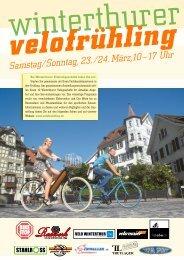 Zeitung [PDF 13.5 MB] - Winterthurer Velofrühling