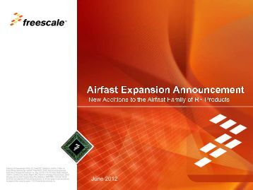 Airfast RF Power Solutions - Freescale