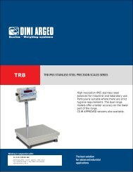 trb ip65 stainless steel precision scales series - Data Speed