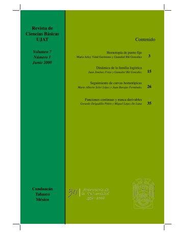 pdf 7.1Mb - Publicaciones - Universidad Juárez Autónoma de Tabasco