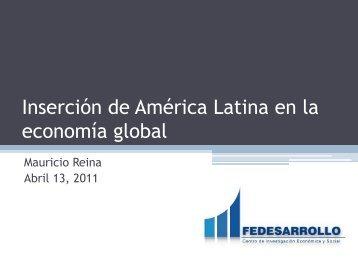 Inserción de América Latina en la economía global