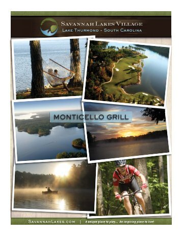 MONTICELLO GRILL - Savannah Lakes Village