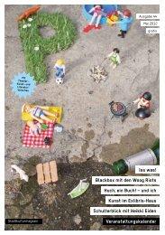 Schulterblick mit Heikki Eiden Veranstaltungskalender ... - P-Magazin