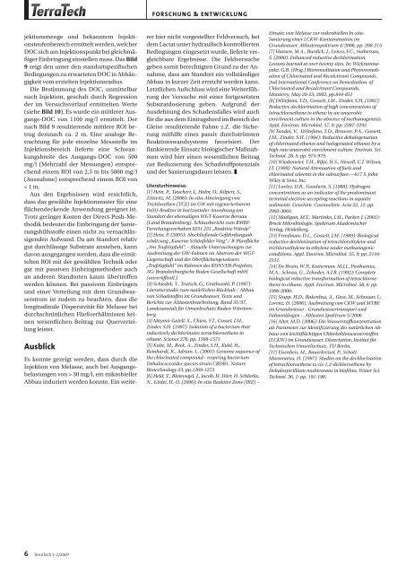 Das Potenzial des biologischen LCKW-Abbaus - Sensatec Berlin