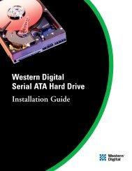 Western Digital Serial ATA Hard Drive Installation Guide -001 - TTI