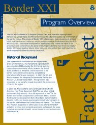 Border XXI Program Overview - San Diego Health Reports and ...