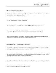 Breast Augmentation - Mentor