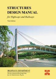 Structures Design Manual for Highways & Railways