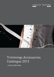 Trimmings Accessories Catalogue 2013 - Charles Parsons Apparel ...