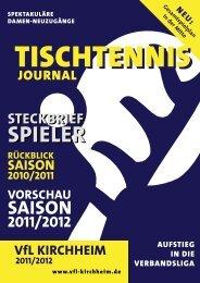 VorSchau SaiSon 2011/2012 - VFL Kirchheim