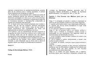 Código de Deontologia Médica (1931) - Conselho Federal de ...