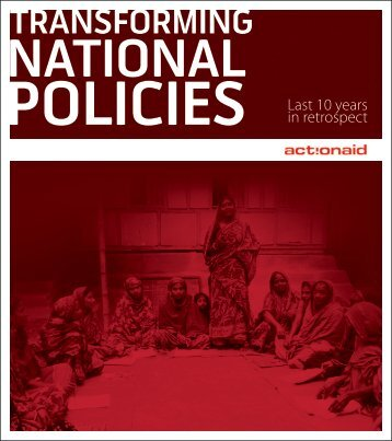 Policy brochure-final - ActionAid International