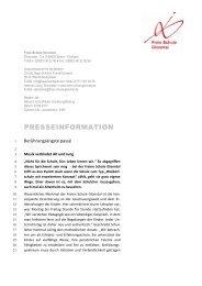 PresseInfo alt und jung - Freie Schule Glonntal
