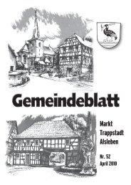 Markt Trappstadt Alsleben