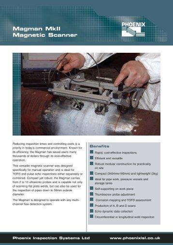 Magman MkII Magnetic Scanner