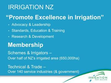 Andrew Curtis, Chief Executive, Irrigation New Zealand - Local ...