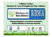 Apresentação: Clayton Ferreira Lino - Reserva da Biosfera da Mata ...