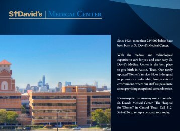 Women's Services - St. David's HealthCare