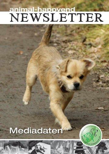 Mediadaten und Anzeigenpreise - Animal Happyend